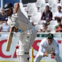 Dean Brownlie - A courageous unbeatn knock of 69 runs