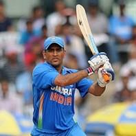 MS Dhoni - Highest run scorer fro India with unbeaten average of 167 runs
