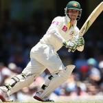 Phillip Hughes - A polished knock of 87 runs