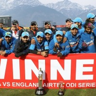 Team India - After winning the series 3-2 vs. England