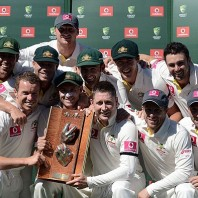 The Australian Squad - After clinching the Warne-Muralitharan Trophy