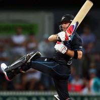 Brendon McCullum - Led from the front with his powerful batting