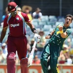 Mitchell Starc Jostled West Indies as Australia won the 1st ODI
