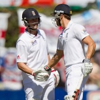 Jonathan Trott and Nick Compton - Centurions for England on the opening day