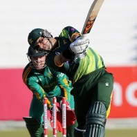 Misbah-ul-Haq - Led from the front by smashing 80 runs