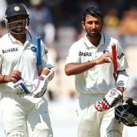 Murali Vijay and Cheteshwar Pujara - A Mammoth 294 runs unbroken partnership