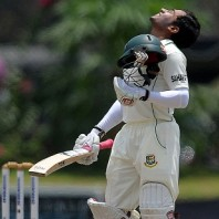 Mushfiqur Rahim - 'Player of the match' for his herculean innings of 200 runs