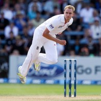 Stuart Broad - Express fast bowling in the first innings