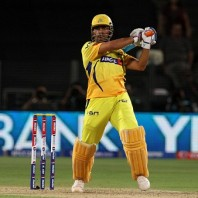 MS Dhoni - 'Player of the match'