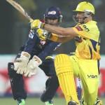 Chennai Super Kings disgraced Delhi Daredevils