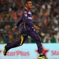 Sunil Narine - Excellent bowling figures of 4-13