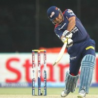 Virender Sehwag - A blistering unbeaten knock of 95 from 57 mere balls