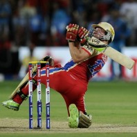 AB de Villiers - 'Player of the match' for his unbeaten 50 off 23