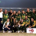 ICC Knockout 1998 - South Africa, the inaugural Champions