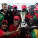 The victorious Zimbabwe team