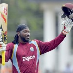 Chris Gayle chewed Sri Lanka