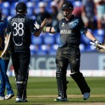 Tim Southee and Mitchell McClenaghan - Winning runs