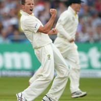 Peter Siddle - Bowler of the day with 5-50
