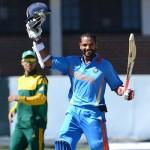 Shikhar Dhawan butchered South Africa A – Tri Series