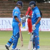 Suresh Raina and Rohit Sharma - A match winning unbeaten partnership of 122 runs