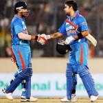 Rohit Sharma and Virat Kohli - Unbeaten tons in the second highest ODI run chase