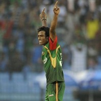 Rubel Hossain - 'Player of the match' for his lethal bowling spell of 6-26