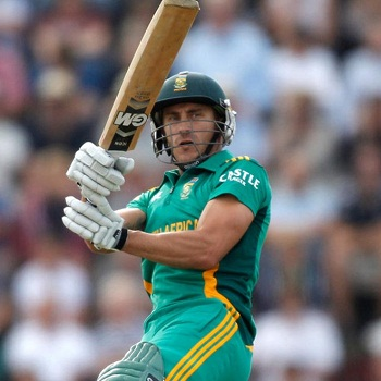 Faf du Plessis - 'Player of the match' and 'Player of the series'