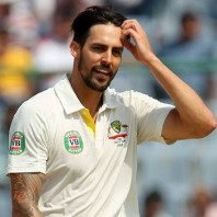 Mitchell Johnson - Star of the day with seven wickets