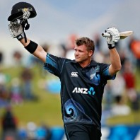 Corey Anderson - Created a world record in ODI by smashing a hundred in 36 mere balls