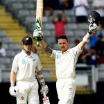 Brendon McCullum and Kane Williamson - Centurions in the first innings