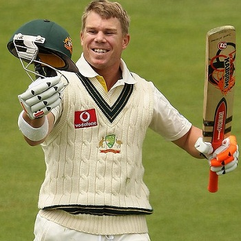 David Warner - Sixth Test hundred