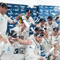 New Zealand - Winning the Test series vs. India after 11 years