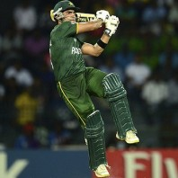 Umar Akmal - Star of the day with unbeaten 102