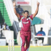 Krishmar Santokie - 'Player of the match' for his lethal fast bowling