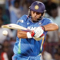 Yuvraj Singh - Back to form with a smooth fifty
